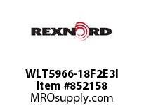 REXNORD WLT5966-18F2E3I WLT5966-18 F2 T3P N1 WLT5966 18 INCH WIDE MATTOP CHAIN W