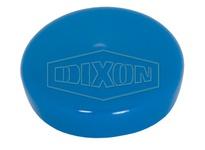 "DIXON BCW-150 1.5"" Blue Plastic Cap - Weld End"