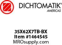 Dichtomatik 35X62X7TB-BX DISCONTINUED