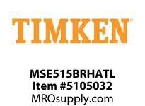 TIMKEN MSE515BRHATL Split CRB Housed Unit Assembly