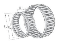 INA K4X7X7TN Needle roller cage assembly
