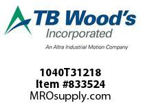TBWOODS 1040T31218 1040T31X2 1/8 G-FLEX HUB