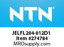 NTN JELFL204-012D1 MOUNTED UNIT(CAST IRON)