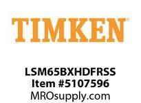 TIMKEN LSM65BXHDFRSS Split CRB Housed Unit Assembly