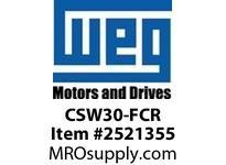 WEG CSW30-FCR 30MM CLAMP RING NEMA 4X FLUSH Pushbuttons