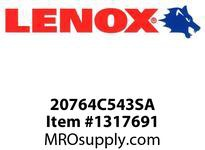 Lenox 20764C543SA KITS-C543SA 5PC T SHANK CBN JIG SET