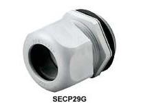 HBL-WDK SECP16GA EURO CORD CONN .23-.53 PG16 GY