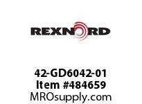 REXNORD 131108 42-GD6042-01 RTN D 4.5 DROP SPIRAL RG
