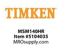 TIMKEN MSM140HR Split CRB Housed Unit Component