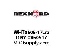 REXNORD WHT8505-17.33 WHT8505-17.33 WHT8505 17.33 INCH WIDE MATTOP CHAI