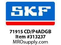 SKF-Bearing 71915 CD/P4ADGB