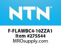 NTN F-FLAWBC4-10ZZA1 EXTRA SMALL BALL BRG