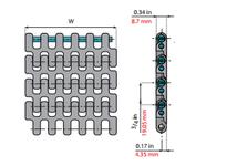 System Plast 261391 LFG2190FG-K450 MPB-INCH