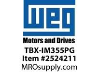 WEG TBX-IM355PG TERMINAL BOX IEC FRAME 355 2xP Integrals