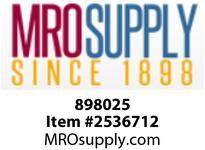 MRO 898025 2-1/2 FIP SCH80 PVC UNION