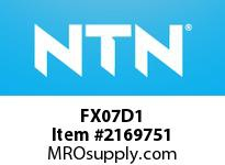 NTN FX07D1 Cast Housing