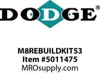 DODGE M8REBUILDKIT53 MTA 8 REBUILD KIT LEVEL 2 53:1 RENEWAL PARTS