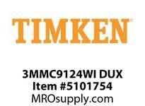 TIMKEN 3MMC9124WI DUX Ball P4S Super Precision