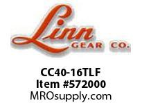 Linn-Gear CC40-16TLF TAPER-LOCK COUPLING SPROCKET  H1