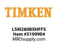 TIMKEN LSM280BXHFFS Split CRB Housed Unit Assembly