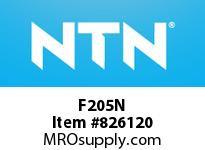 NTN F205N Bearing Units - Cast Housing