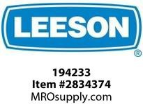 Leeson 194233 40HP1200RPM.364T.TEFC.230/460V.3PH. 60HZ.CONT.40C.1.15SF.RIGIDROLLER BRGS :