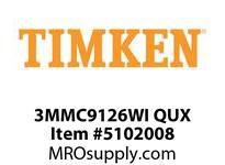 TIMKEN 3MMC9126WI QUX Ball P4S Super Precision