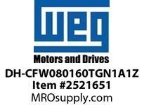 WEG DH-CFW080160TGN1A1Z VFD CFW08+ 10HP 460V 16A DB VFD - CFW