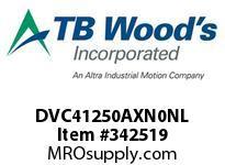 TBWOODS DVC41250AXN0NL INV DVC IP00 460V 125HP