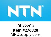 NTN BL222C3 MEDIUM SIZE BALL BRG(STANDARD)