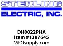 Sterling Electric DH0022PHA HP: 2 RPM: 3600 ENCLOSURE: TEFC FRAME: 145TC C-FACE FTD. ROLLED STEEL - WASHDOWN DUTY
