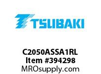 US Tsubaki C2050ASSA1RL C2050AS SA-1 ROLLER LK