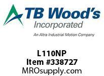 TBWOODS L110NP L110NP BUNA-N SPIDER
