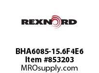 REXNORD BHA6085-15.6F4E6 BHA6085-15.6 F4 T6P N1.75 BHA6085 15.6 INCH WIDE MATTOP CHAIN