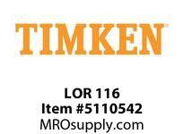 TIMKEN LOR 116 SRB Pillow Block Component