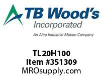 TBWOODS TL20H100 TL20H100 1210 TIM PULLEY