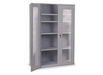 1531604 Model: CAB48-4CLR (with 4 shelves/no bins) Color: Grey