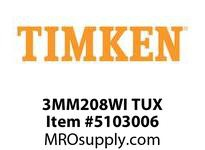 TIMKEN 3MM208WI TUX Ball P4S Super Precision