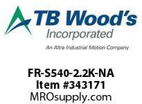 TBWOODS FR-S540-2.2K-NA INVERTER 3HP