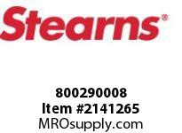STEARNS 800290008 END PLCI 1D SPC INT LDW 8002484