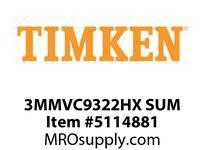 TIMKEN 3MMVC9322HX SUM Ball High Speed Super Precision