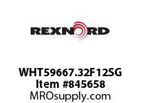 REXNORD WHT59667.32F12SG WHT5966-7.3125 F3 T12P SP CONTACT PLANT FOR ACCURATE DESCRIPT