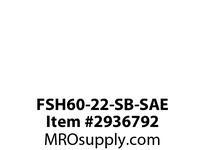 TBWOODS FSH60-22-SB-SAE ASSY B&K WITH STEEL HUB