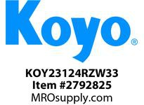 Koyo Bearing 23124RZW33 SPHERICAL ROLLER BEARING