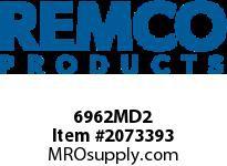 """REMCO 6962MD2 Remco MD Scraper Scraper- 4""""- Metal Det.- Green"""