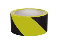 "IRWIN 2034300 Yellow / Black Floor Tape 2""x 54"