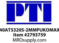 PTI 40AT5320S-2MMPUKOMAX TIMING BELT BE-BERVINA