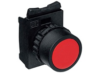 WEG CSW-RSBF5R 22MM FLUSH RES PB BLACK R Pushbuttons