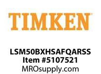TIMKEN LSM50BXHSAFQARSS Split CRB Housed Unit Assembly