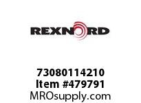 REXNORD 138186 73080114210 80 HCB 4.4375 BORE 2 SS